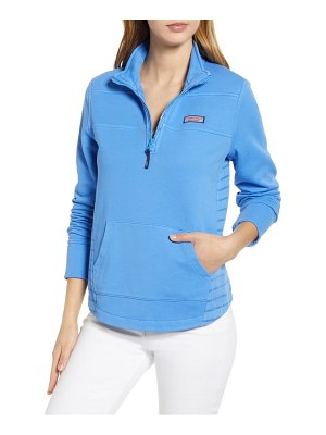 Vineyard Vines boathouse relaxed fit quarter zip pullover