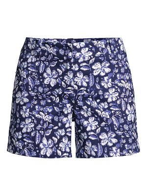 Vineyard Vines hibiscus floral 5 every day shorts