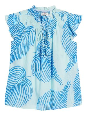 Vineyard Vines print gauzy top