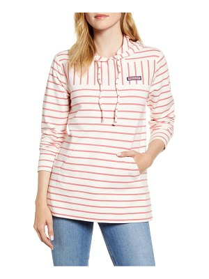 Vineyard Vines stripe relaxed fit shep hoodie