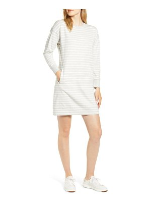 Vineyard Vines striped long sleeve sweatshirt dress