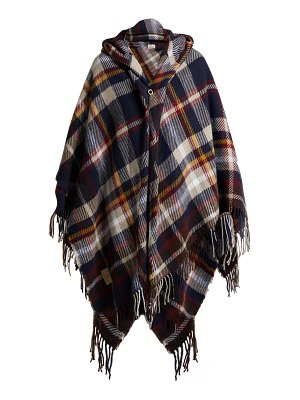 VIVIENNE WESTWOOD ANGLOMANIA Tartan Hooded Poncho