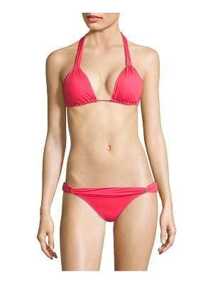 ViX by Paula Hermanny watermelon bia halter bikini top