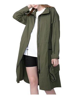 VOICE OF INSIDERS Packable Oversized Wind-Resistant Jacket