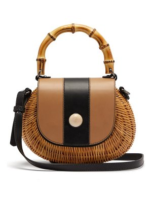WAI WAI marina wicker basket bag
