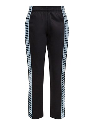 WALES BONNER checked seam track pants