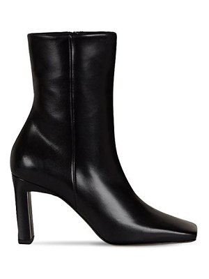 WANDLER 85mm isa leather ankle boots