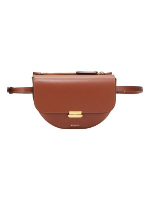 WANDLER Anna Big Leather Belt Bag