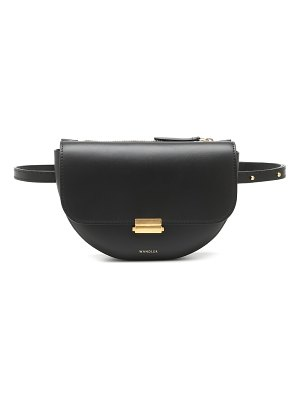 WANDLER anna buckle big leather belt bag