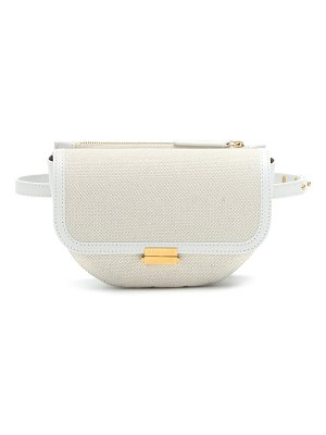 WANDLER Anna Buckle canvas belt bag
