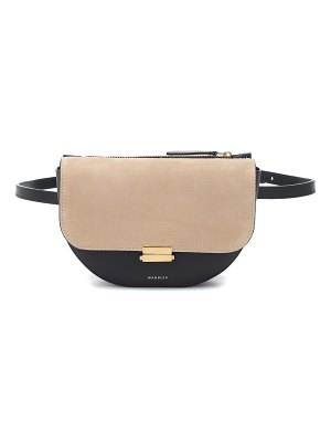 WANDLER Anna Buckle leather belt bag