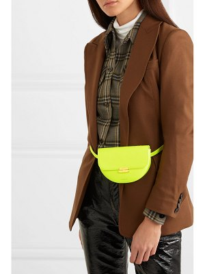 WANDLER anna neon leather belt bag