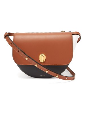 WANDLER billy contrasting leather cross body bag