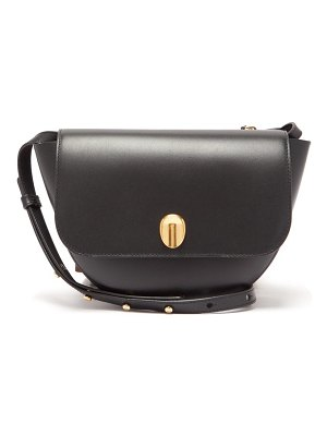WANDLER billy fingerprint clasp leather shoulder bag