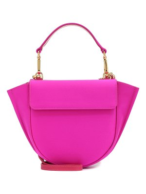 WANDLER exclusive to mytheresa – hortensia mini satin shoulder bag