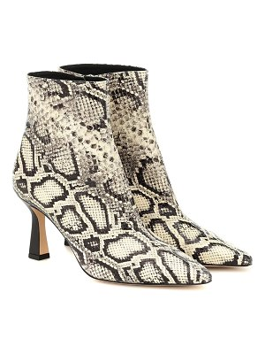 WANDLER exclusive to mytheresa – lina leather ankle boots