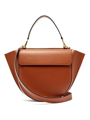 WANDLER hortensia large leather shoulder bag