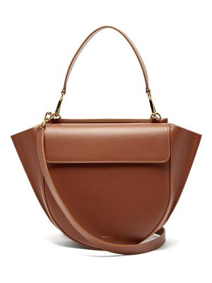 WANDLER hortensia medium leather cross-body bag
