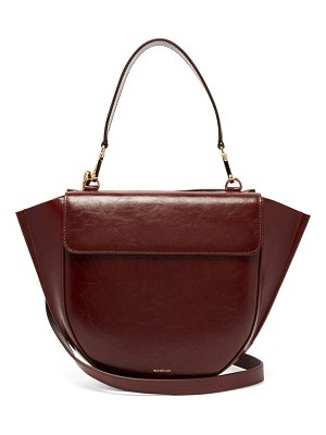 WANDLER hortensia medium leather shoulder bag