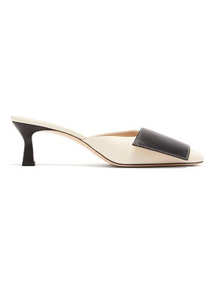 WANDLER isa panelled leather mules