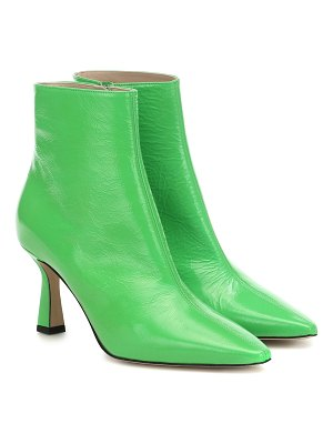 WANDLER exclusive to mytheresa – lina patent leather ankle boots