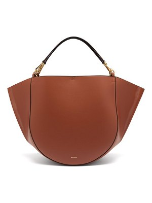 WANDLER mia large leather tote bag