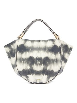 WANDLER mia tie dye leather tote bag