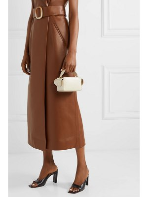WANDLER yara box textured-leather shoulder bag