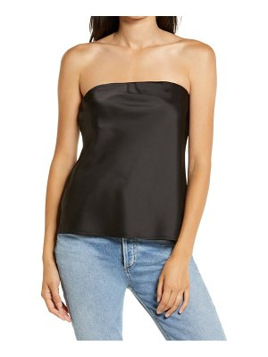 Wayf carter satin tube top