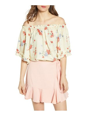 Wayf ginnie off the shoulder top