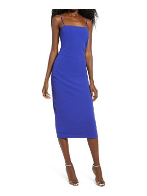 Wayf the bea ruched cami midi dress