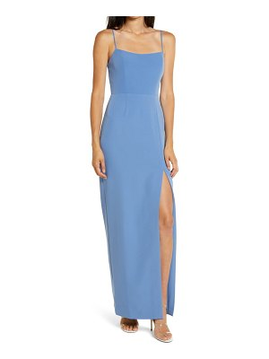 Wayf the lettie column gown