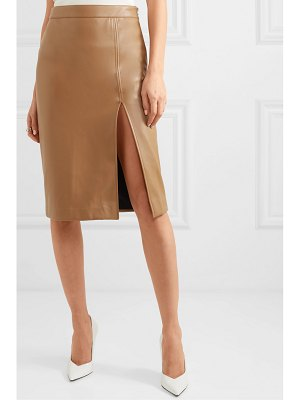 We11Done faux leather skirt