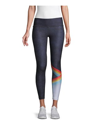 Wear It To Heart Printed Ankle Leggings