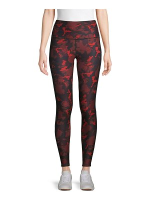 Wear It To Heart Camouflage-Print High-Rise Leggings