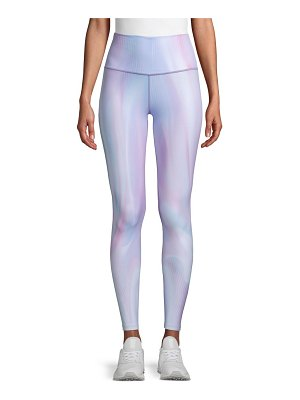 Wear It To Heart Prizma High-Waist Print Active Leggings