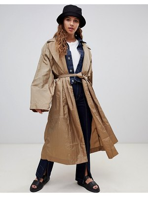 Weekday limited edition drapey coat