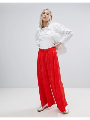 Weekday Pleat Wide Leg Pants