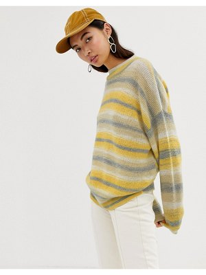 Weekday space dye knitted sweater