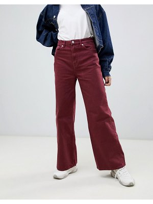 Weekday wide leg ace jean