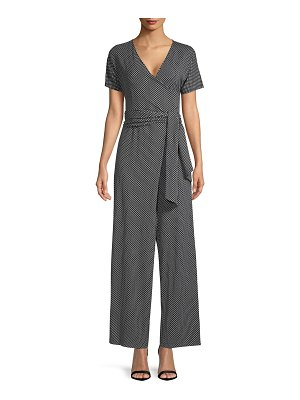 Weekend Max Mara bu printed wrap jumpsuit