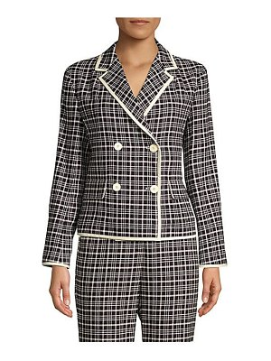 Weekend Max Mara cotton tweed double-breasted jacket