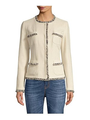 Weekend Max Mara edo tweed short jacket