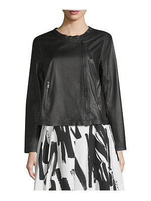 Weekend Max Mara leather jacket