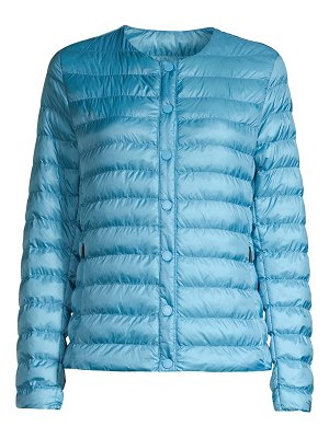 Weekend Max Mara maura collarless puffer jacket