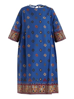 Weekend Max Mara Moroccan-print cotton dress