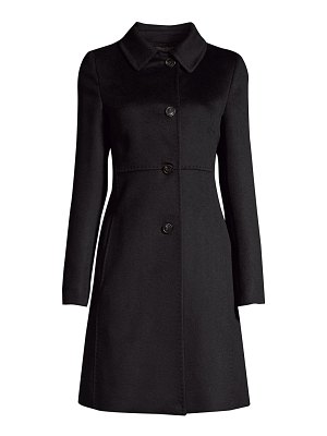 Weekend Max Mara nuoro single-breasted wool peacoat