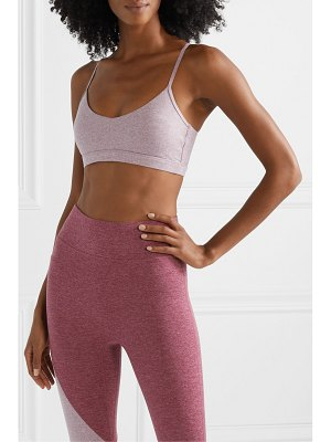 We/Me bliss stretch-jersey sports bra