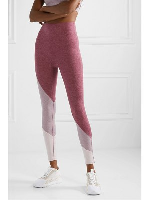 We/Me the yin color-block stretch-jersey leggings