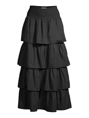WeWoreWhat paloma tiered maxi skirt